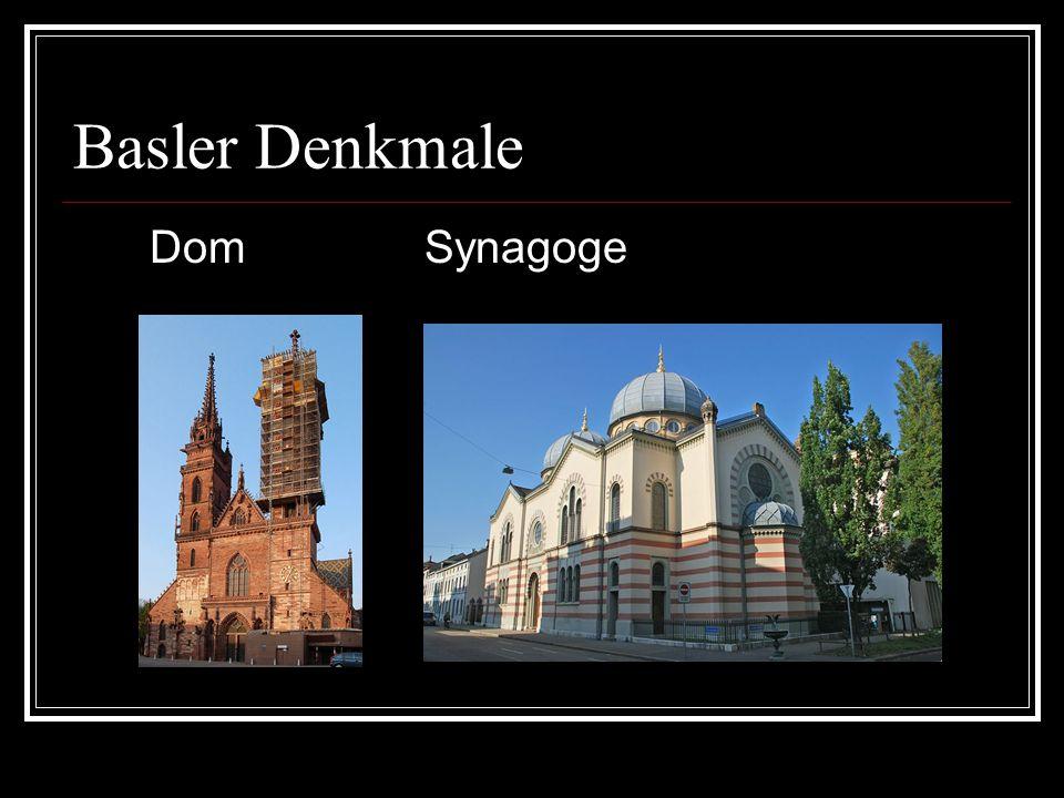 Basler Denkmale Dom Synagoge
