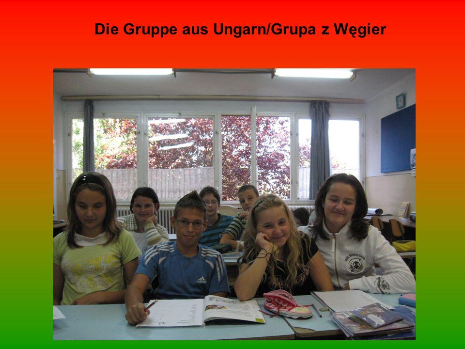 Die Gruppe aus Ungarn/Grupa z Węgier