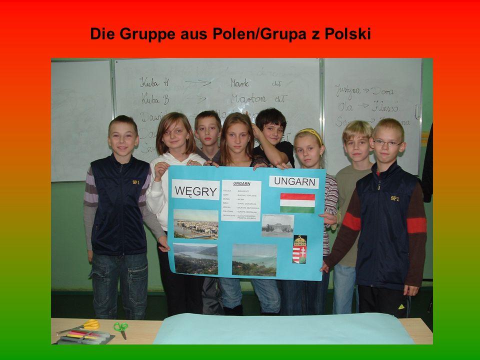 Die Gruppe aus Polen/Grupa z Polski