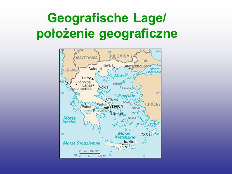 Geografische Lage/ położenie geograficzne