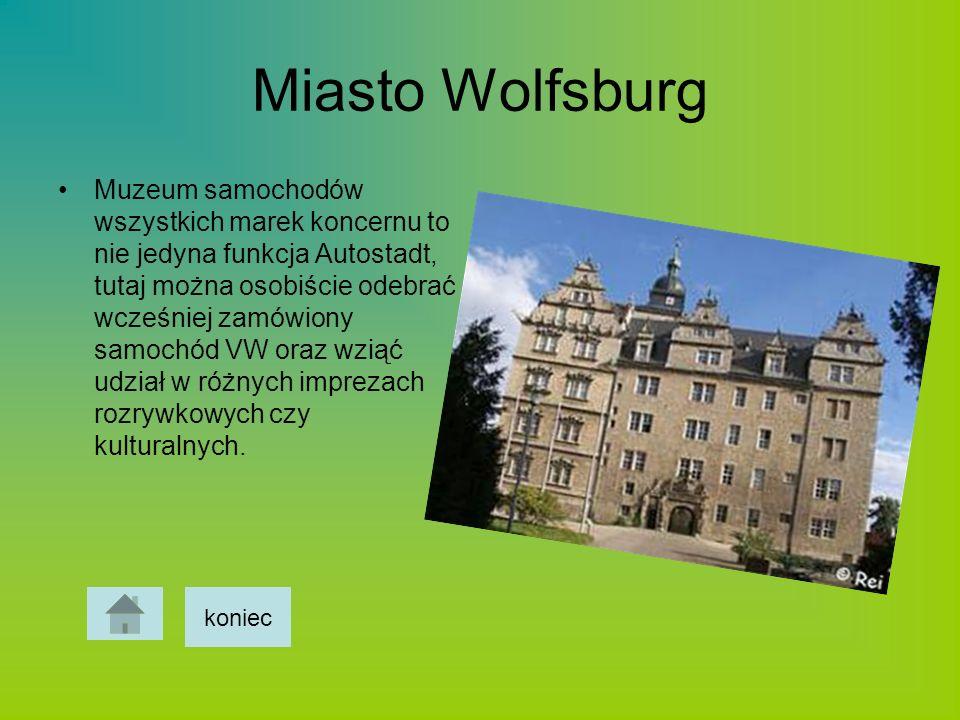 Miasto Wolfsburg Muzeum samochodów wszystkich marek koncernu to nie jedyna funkcja Autostadt, tutaj można osobiście odebrać wcześniej zamówiony samoch