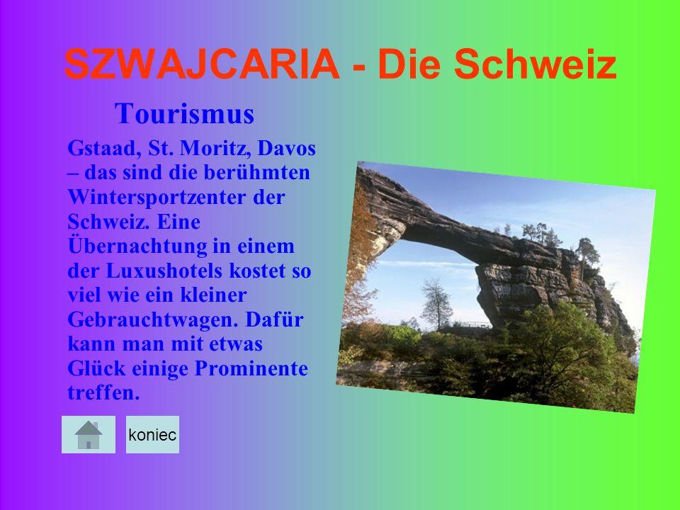 SZWAJCARIA - Die Schweiz Tourismus Gstaad, St. Moritz, Davos – das sind die berühmten Wintersportzenter der Schweiz. Eine Übernachtung in einem der Lu
