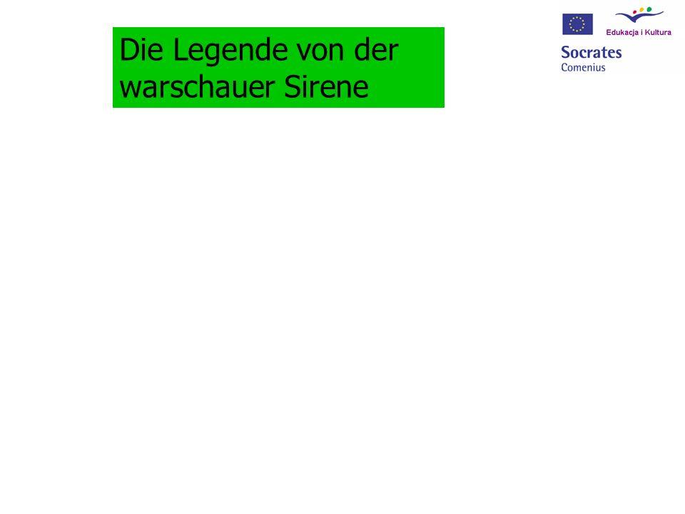 Die Legende von der warschauer Sirene