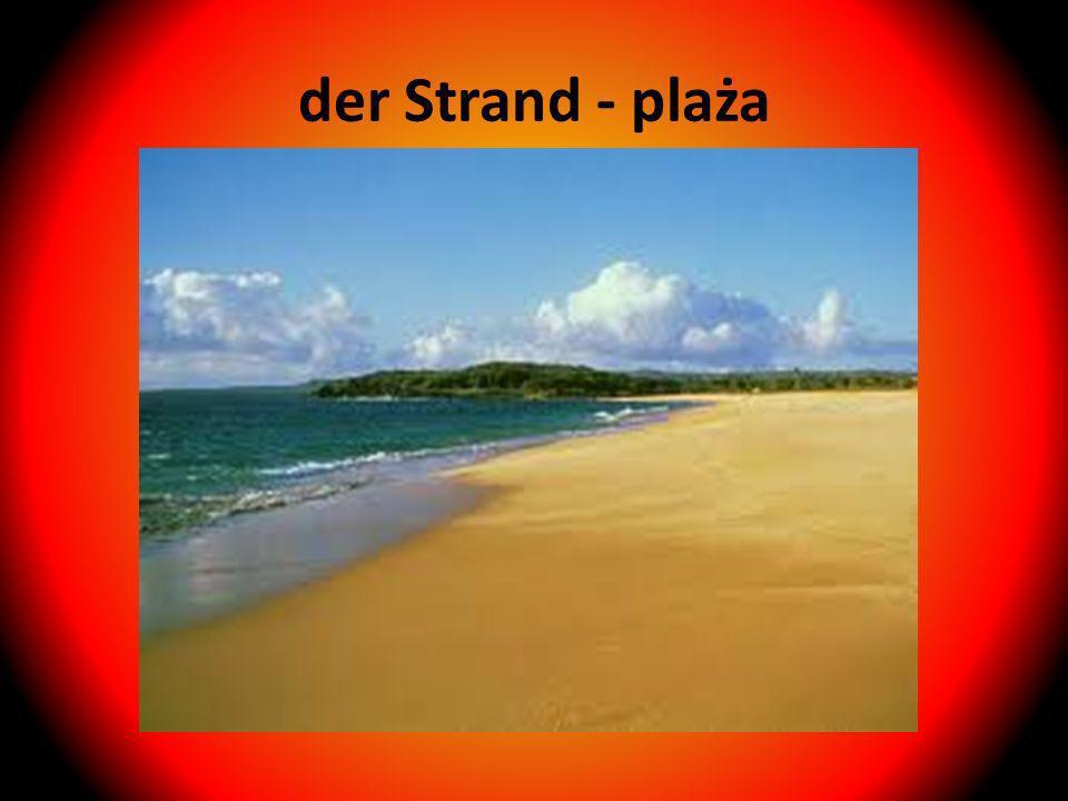 der Strand - plaża