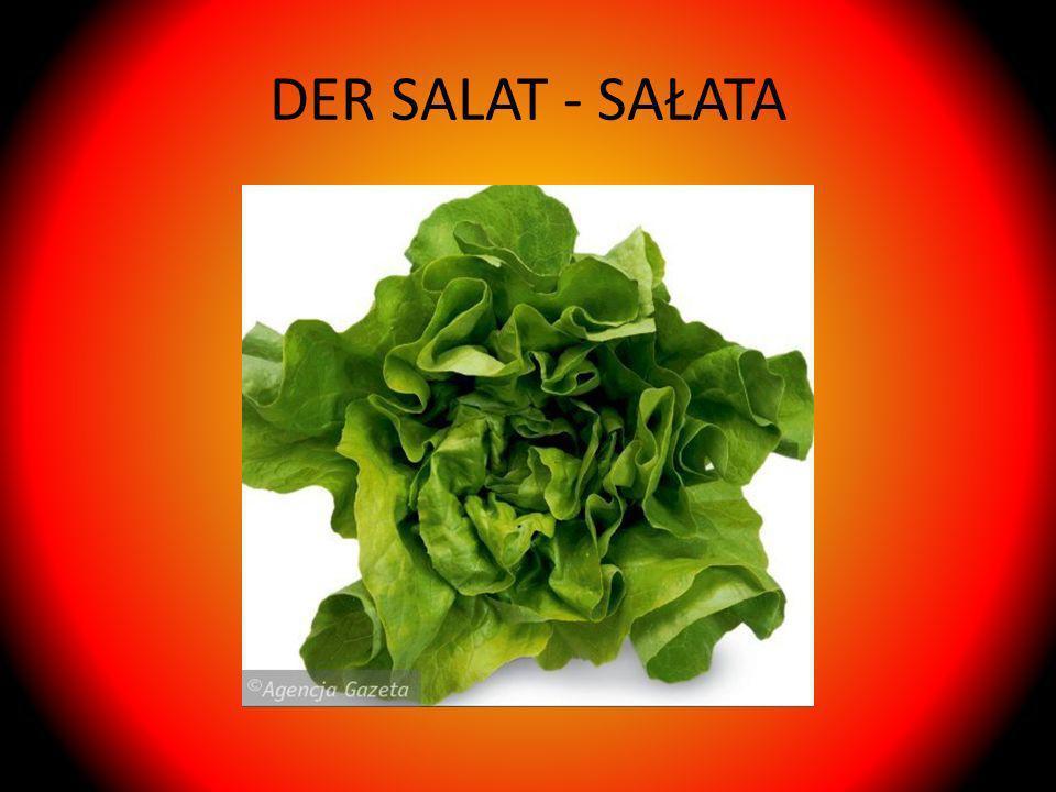 DER SALAT - SAŁATA
