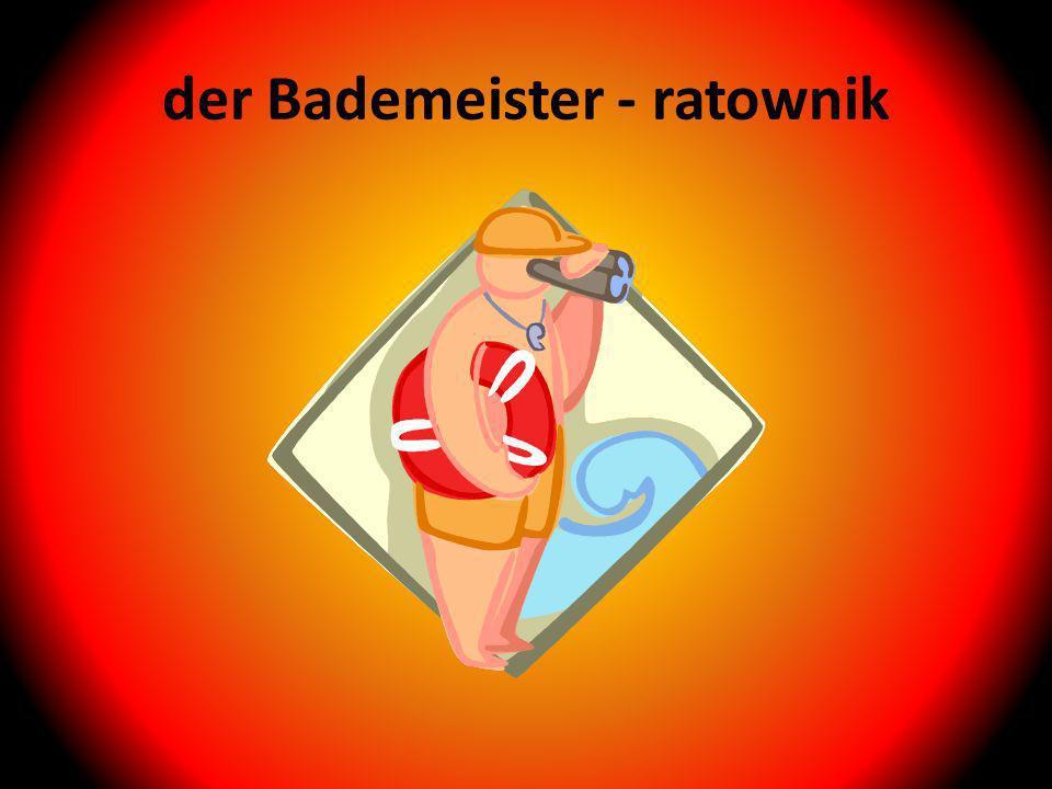 der Bademeister - ratownik