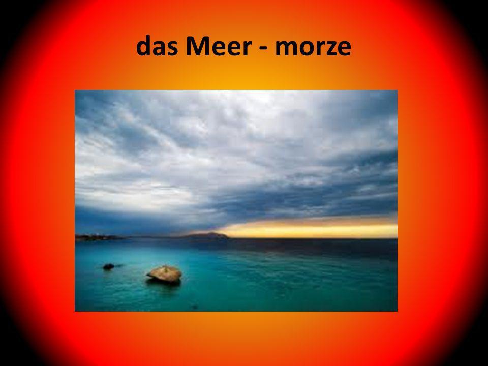 das Meer - morze