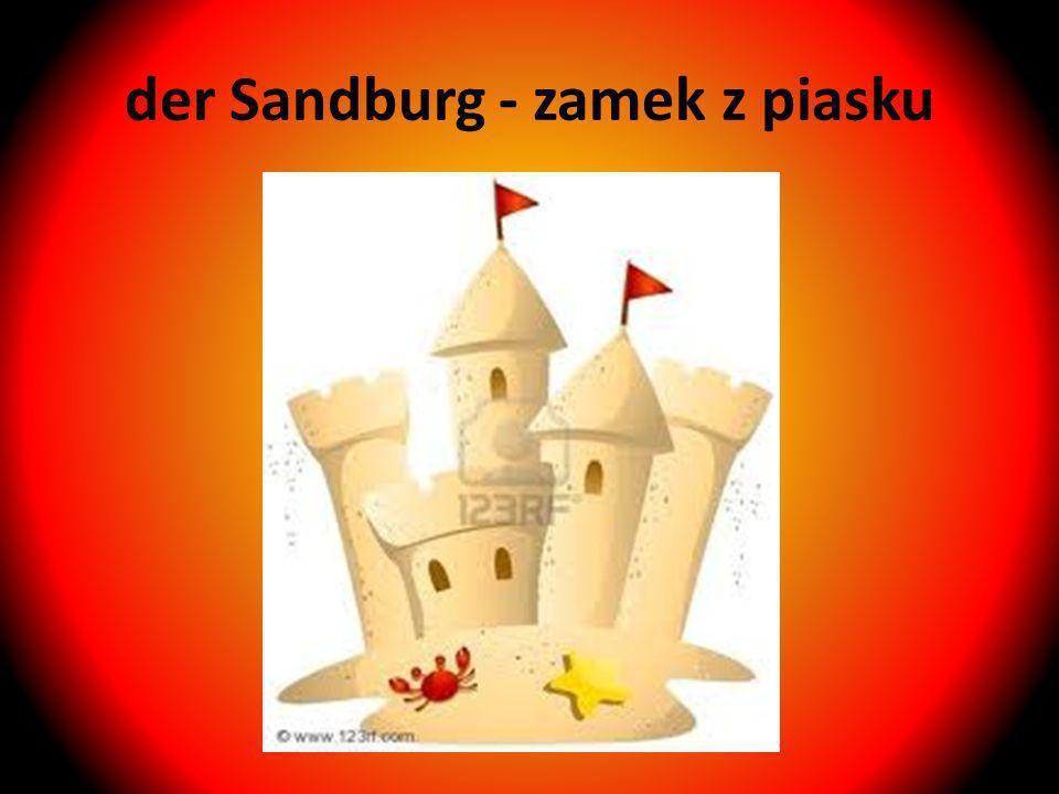 der Sandburg - zamek z piasku