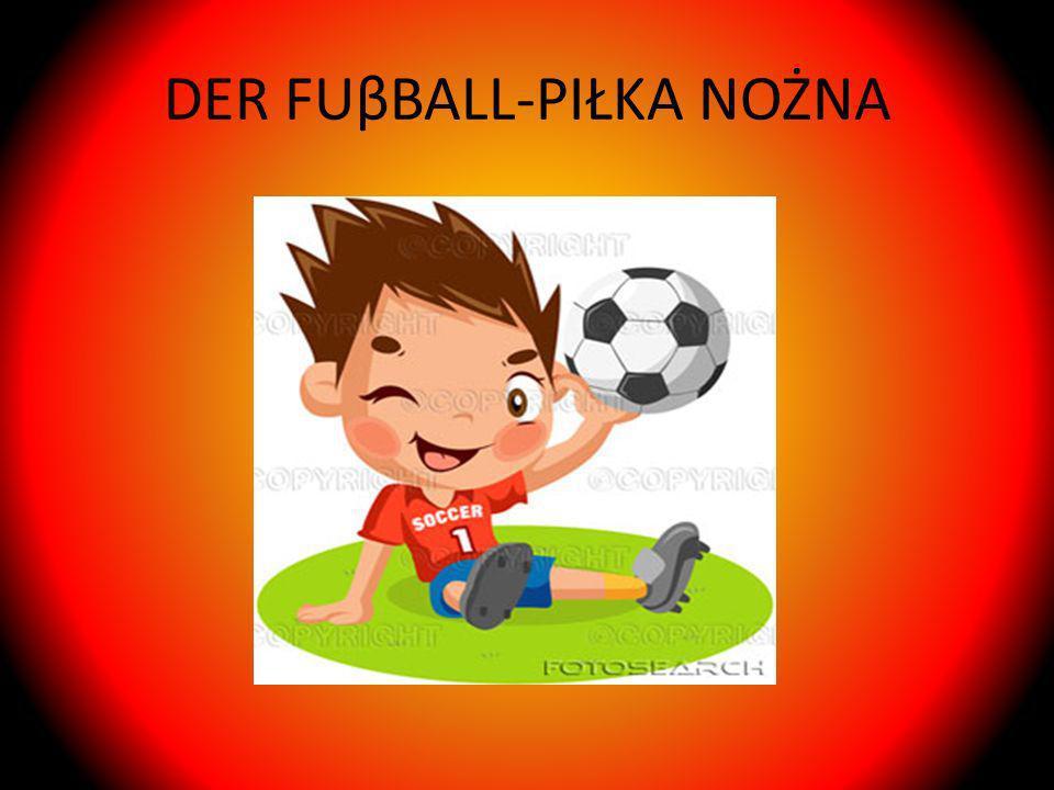 DER FUβBALL-PIŁKA NOŻNA
