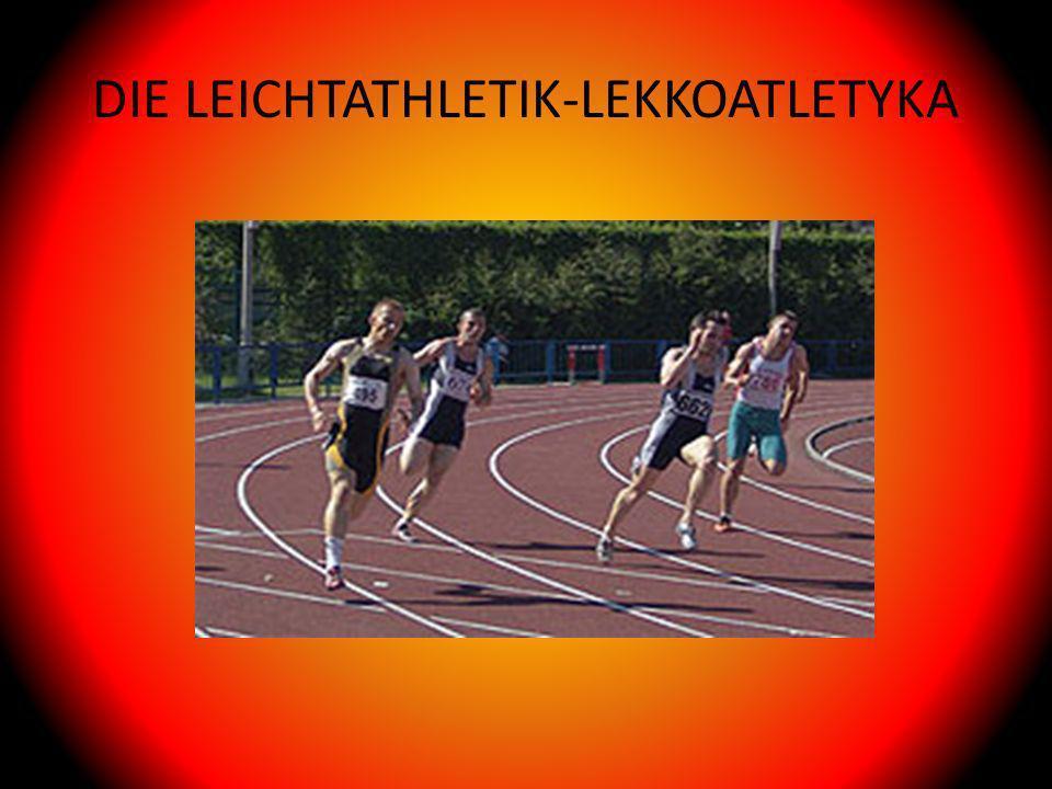 DIE LEICHTATHLETIK-LEKKOATLETYKA
