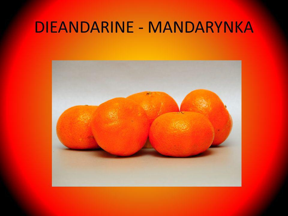 DIEANDARINE - MANDARYNKA