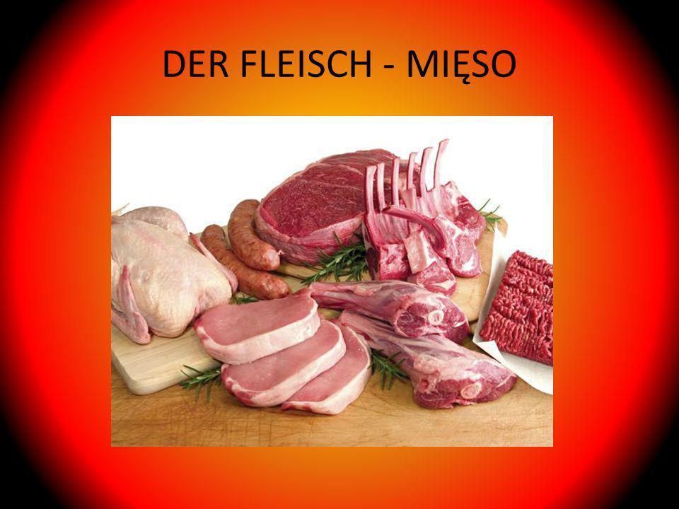 DER FLEISCH - MIĘSO