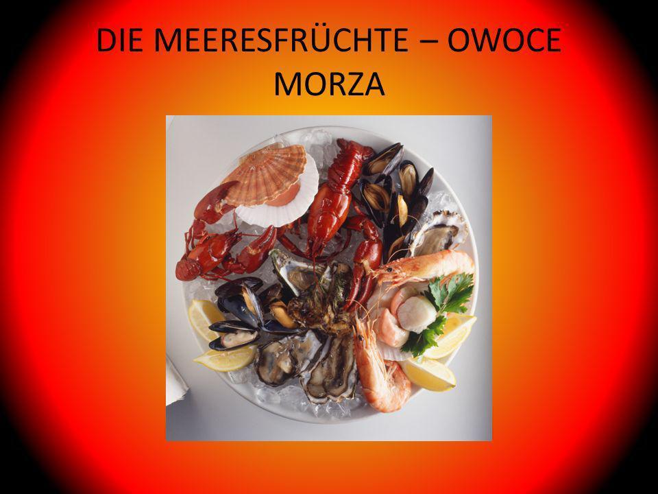 DIE MEERESFRÜCHTE – OWOCE MORZA