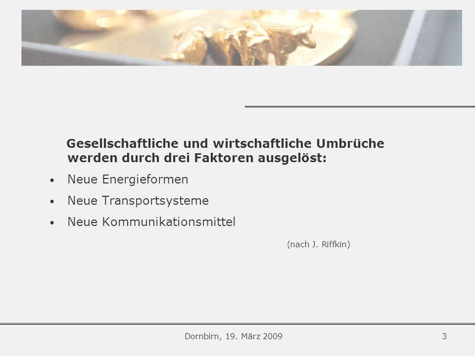 Strategische Schlussfolgerungen Dornbirn, 19.
