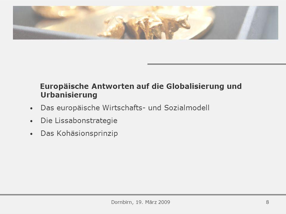 Endogene gesellschaftliche Kräfte Dornbirn, 19.