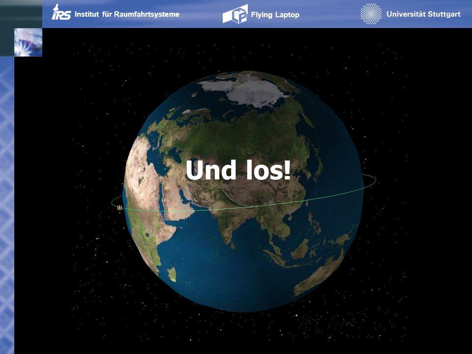 Institut für Raumfahrtsysteme Flying Laptop Und los!