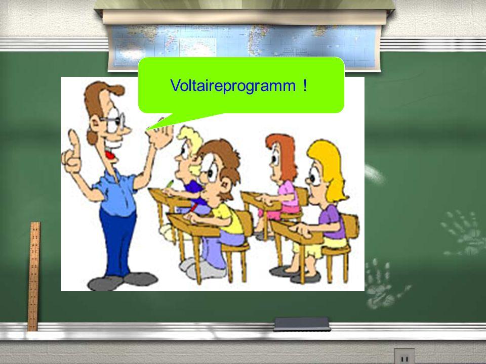 Das Voltaireprogramm Das Voltaireprogramm