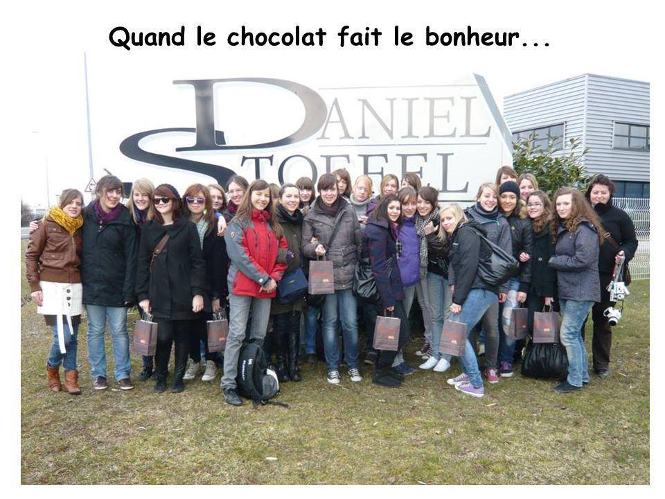 Quand le chocolat fait le bonheur...