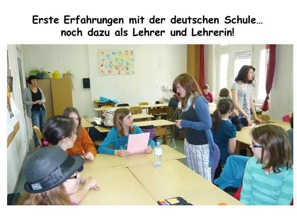 Erste Erfahrungen mit der deutschen Schule… noch dazu als Lehrer und Lehrerin!
