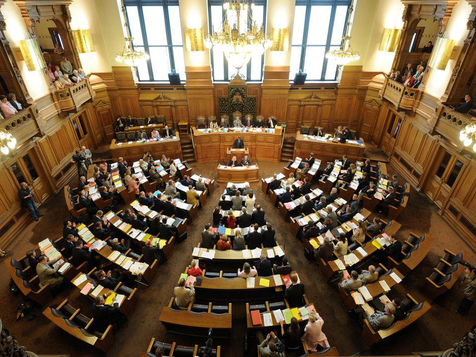 Politischer Einfluss - Commandement politique Hansestadt, Freistadt: eigenes Parlament Hansestadt, Freistadt: eigenes Parlament Ville historique de la