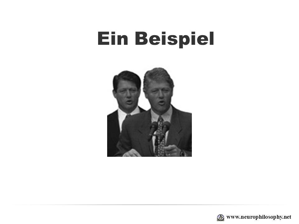 Ein Beispiel www.neurophilosophy.net