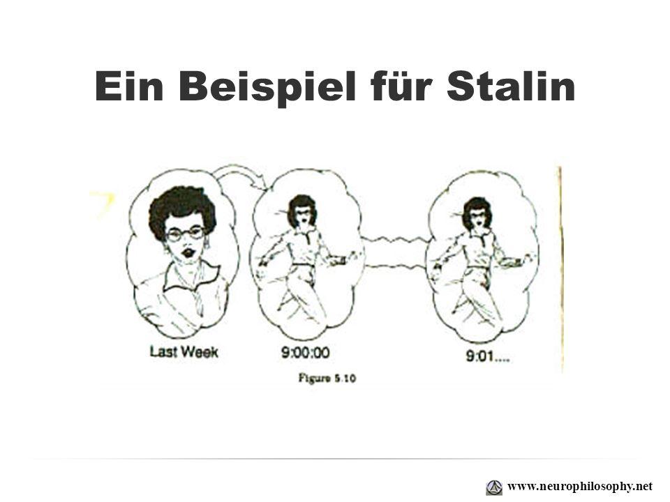 Ein Beispiel für Stalin www.neurophilosophy.net