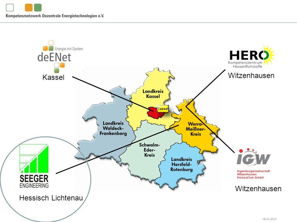 19.01.2014 deENet e.V., Kassel Witzenhausen Hessisch Lichtenau Witzenhausen