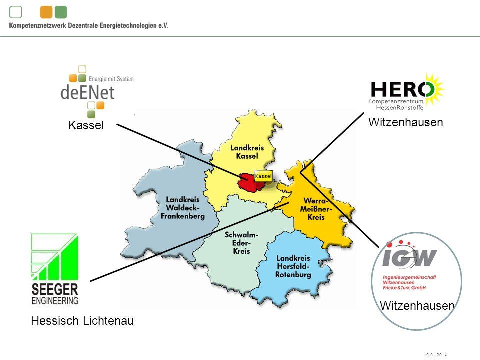 deENet e.V., Kassel Witzenhausen Hessisch Lichtenau Witzenhausen