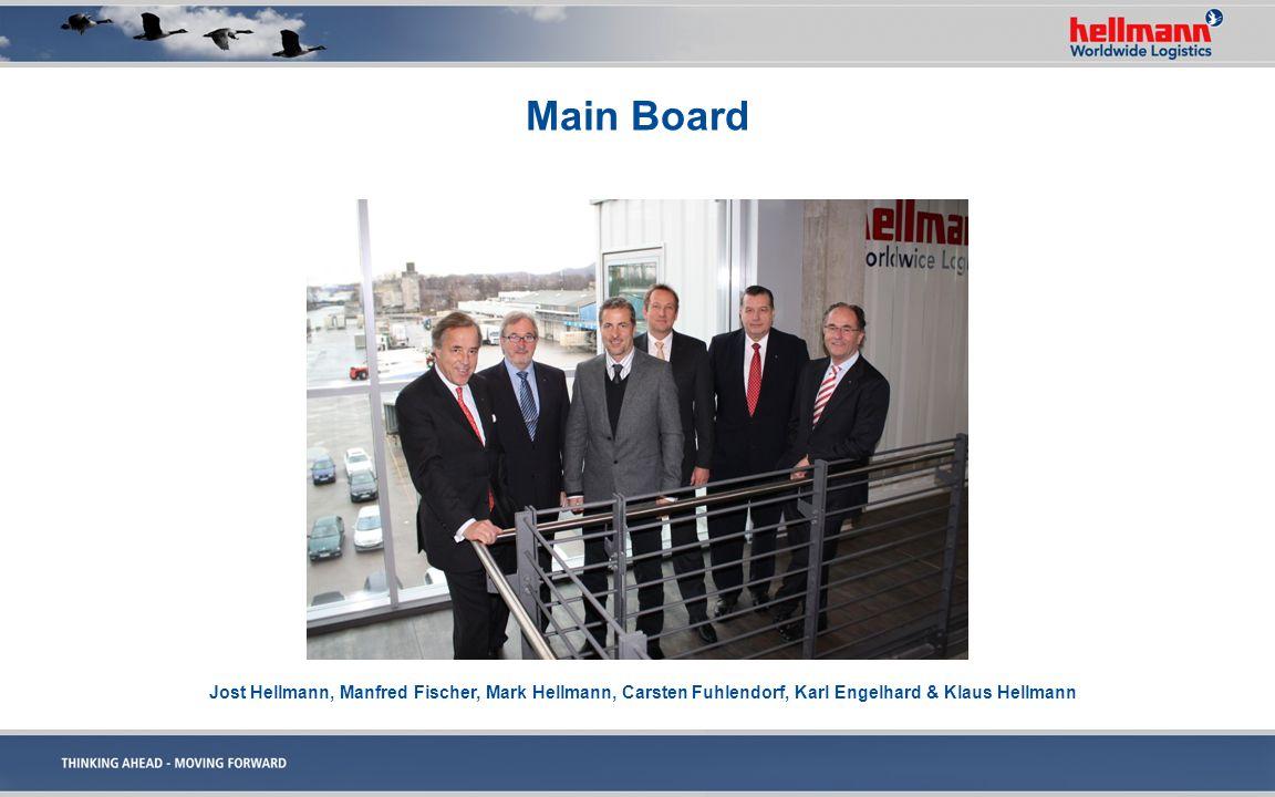 Main Board Jost Hellmann, Manfred Fischer, Mark Hellmann, Carsten Fuhlendorf, Karl Engelhard & Klaus Hellmann