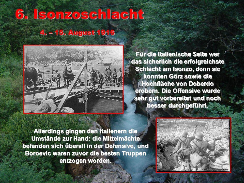 7.Isonzoschlacht 14. – 18.