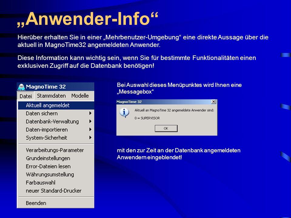 Personal-Info-Center Bild Sie haben in MagnoTime32 natürlich die Möglichkeit, ein Personal-Bild einzubinden.