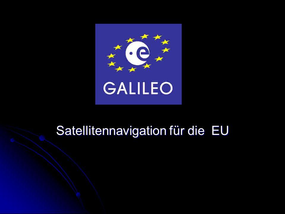 Satellitennavigation für die EU