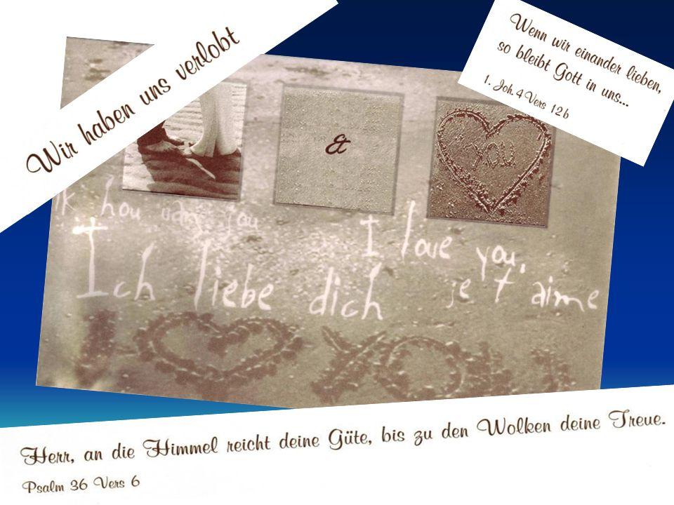 Freundschaft, Verlobung und EheBerlin, 20. - 22.11.2009