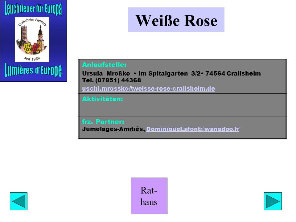 Rat- haus Musikschule Anlaufstelle: Karin Ludwig Städtische Musikschule Burgbergstr. 29 74564 Crailsheim Tel. (07951) 2794-66 karin.ludwig@crailsheim.