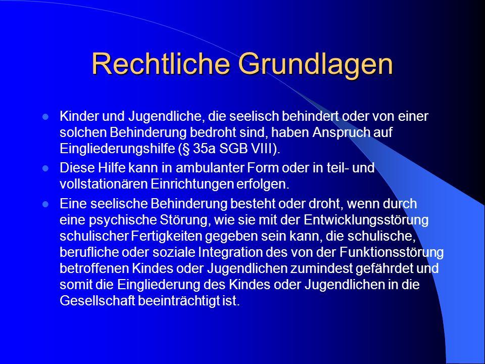 Förderung nach dem Kinder- und Jugendhilfegesetz (KJHG) Antrag beim zuständigen Landkreis (Vorgehen weicht z. Teil erheblich ab) Zuständig in N.: Frau