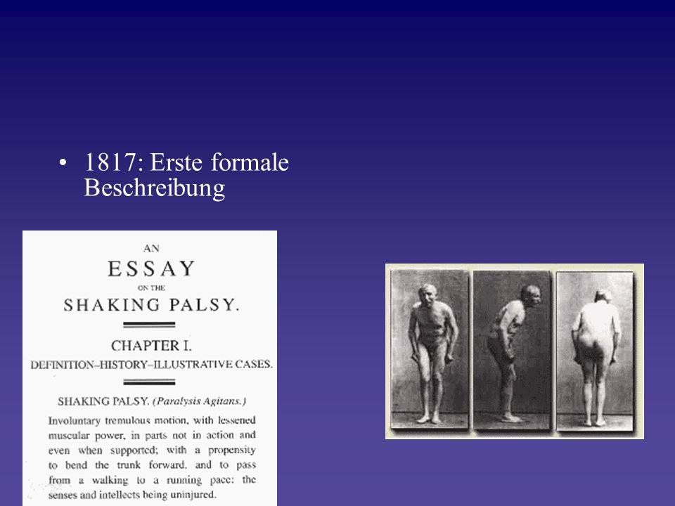 1817: Erste formale Beschreibung