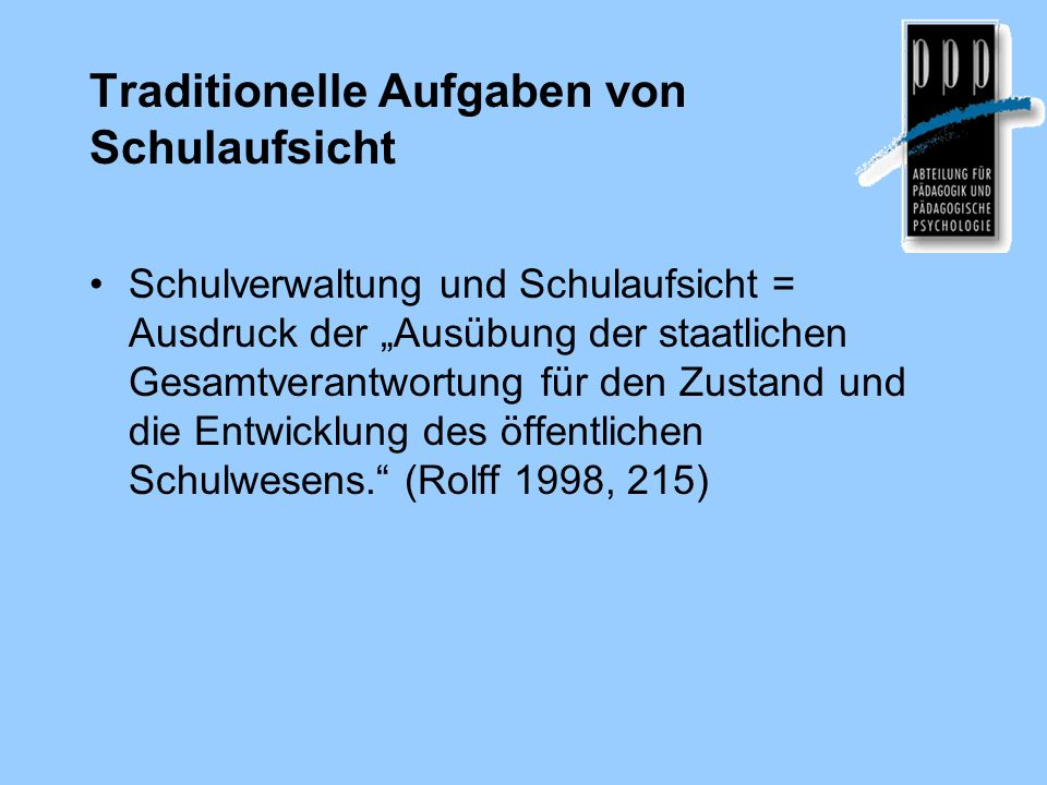 Literatur Altrichter, H.& Maag Merki, K. (Hrsg.).