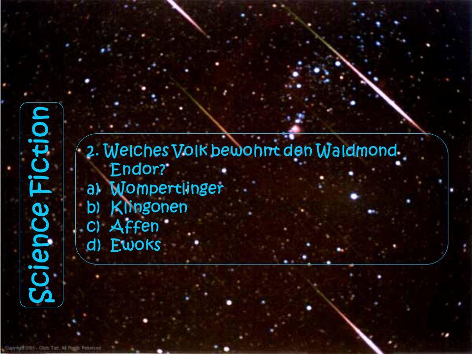 Science Fiction 1. Woran erkennt man Fehler in der Matrix? a)Wenn man plötzlich doppelt so viele Personen sieht. b)Bei Funkenflug. c)Bei Deja-vus bzw.