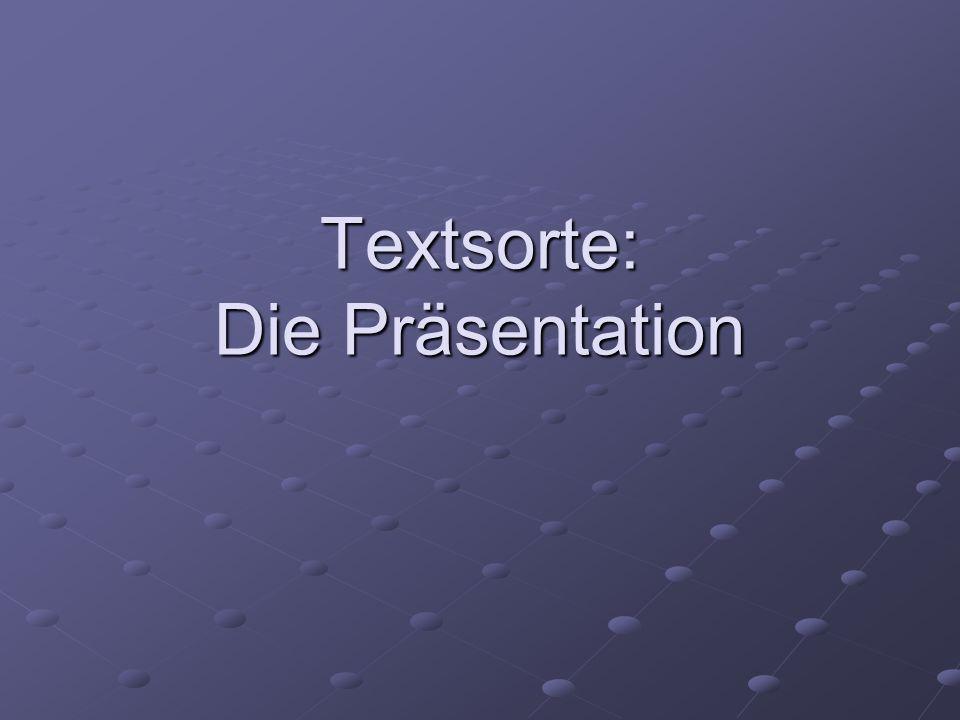 Präsentation etw./jmdn.bekannt machen (Produkt, Dienstleistung, Person, Unternehmen…) WIE.