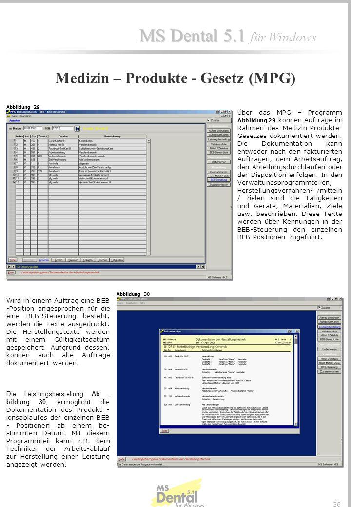 MS Dental 5.1 MS Dental 5.1 für Windows 35 Kassenbuch Abbildung 27 Das Kassenbuch dient der Verwaltung und Dokumentation von Kassenbewegungen. Dem Anw