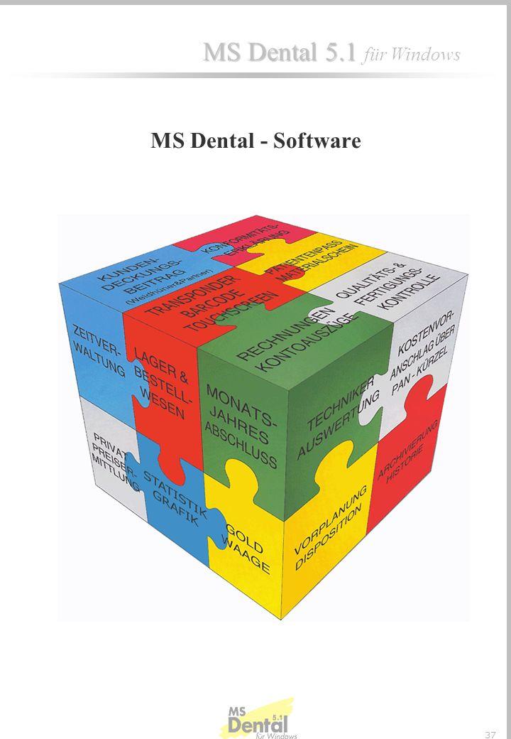 MS Dental 5.1 MS Dental 5.1 für Windows 36 Wird in einem Auftrag eine BEB -Position angesprochen für die eine BEB-Steuerung besteht, werden die Texte