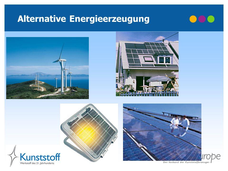 Alternative Energieerzeugung