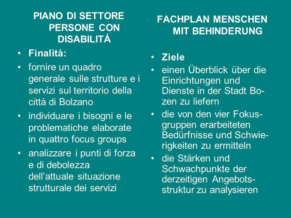 Ufficio Servizi a persone in situazione di handicap e disagio psichico Amt für Menschen mit Behinderung und in psychischer Notlage Direttore – Direkto