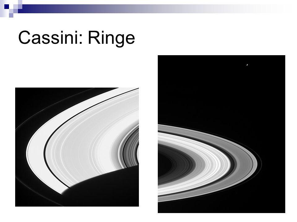 Cassini: Ringe