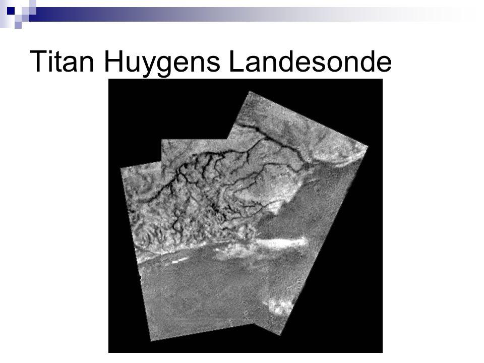 Titan Huygens Landesonde