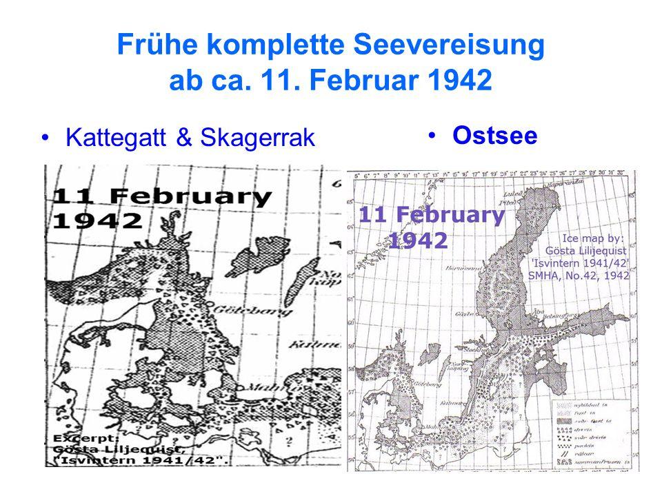 16 Frühe komplette Seevereisung ab ca. 11. Februar 1942 Kattegatt & Skagerrak Ostsee