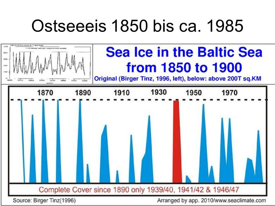 20 Ostseeeis 1850 bis ca. 1985