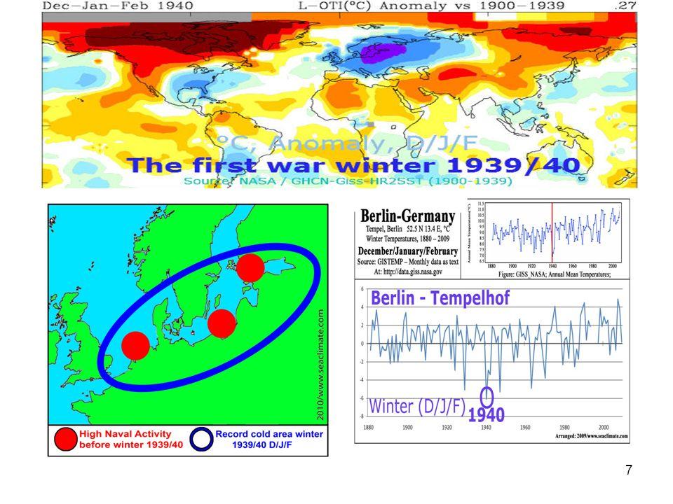 8 11.Dezember 1939: Helgoland meldet Frost am 11.