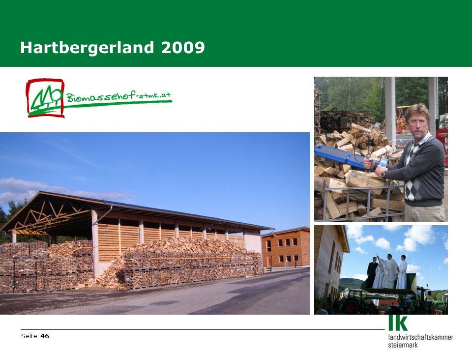 Seite 46 Hartbergerland 2009