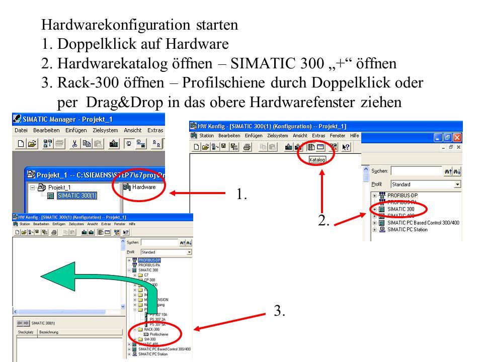 Anwenderprogramm erstellen – Editor starten Der KOP/AWL/FUP-Editor wird durch Doppelklick auf den Codebaustein ge- startet.